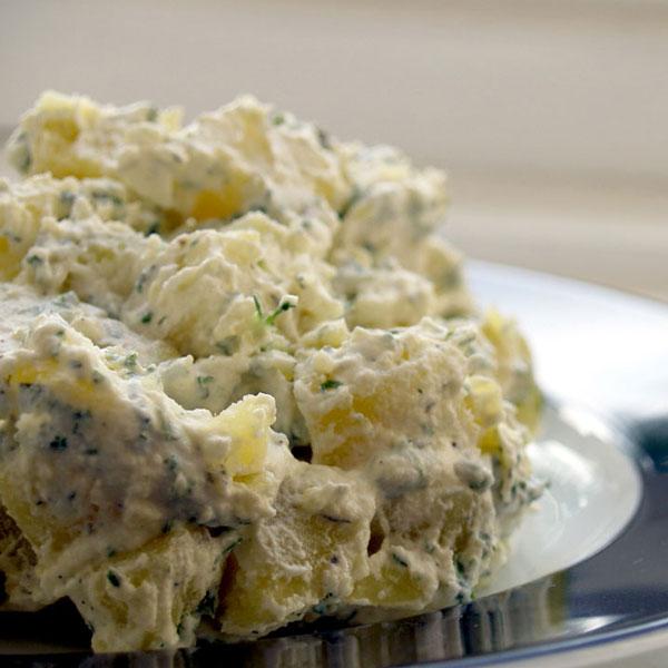 Salade de patates campagnardes