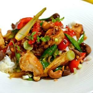 Sauté thaï au poulet
