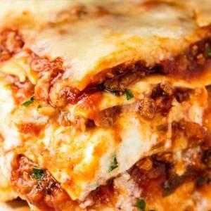 lasagne aux 3 fromages et basilic