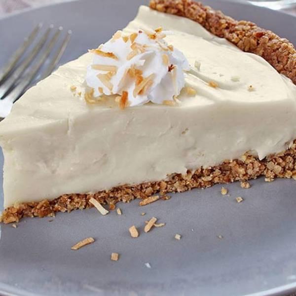 Tarte au fromage à la crème et au bailey's